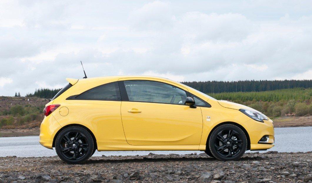 Vauxhall Corsa Side