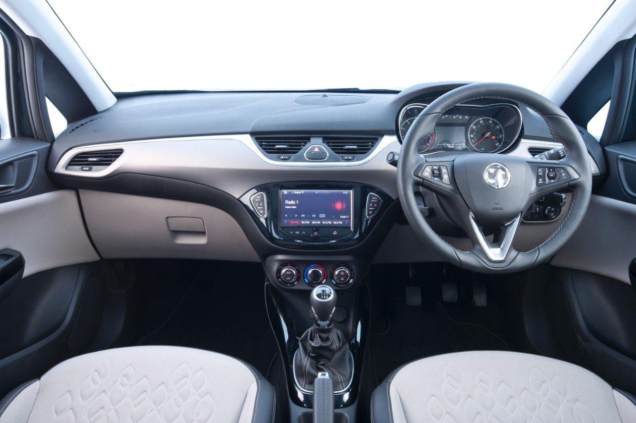 Vauxhall Corsa dash