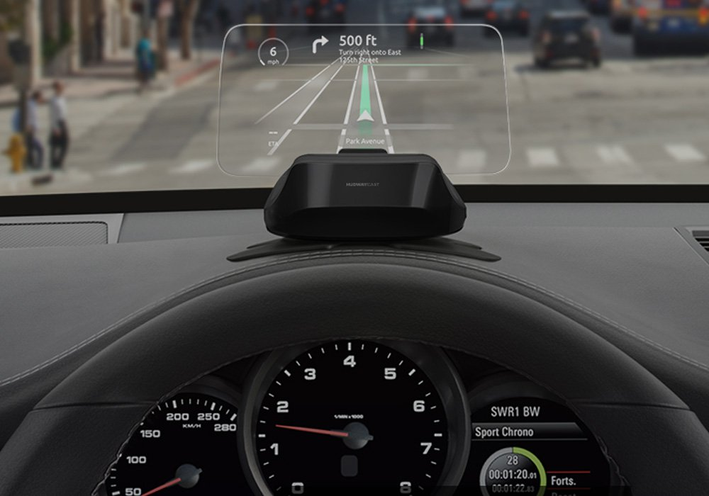 hudway car head up display
