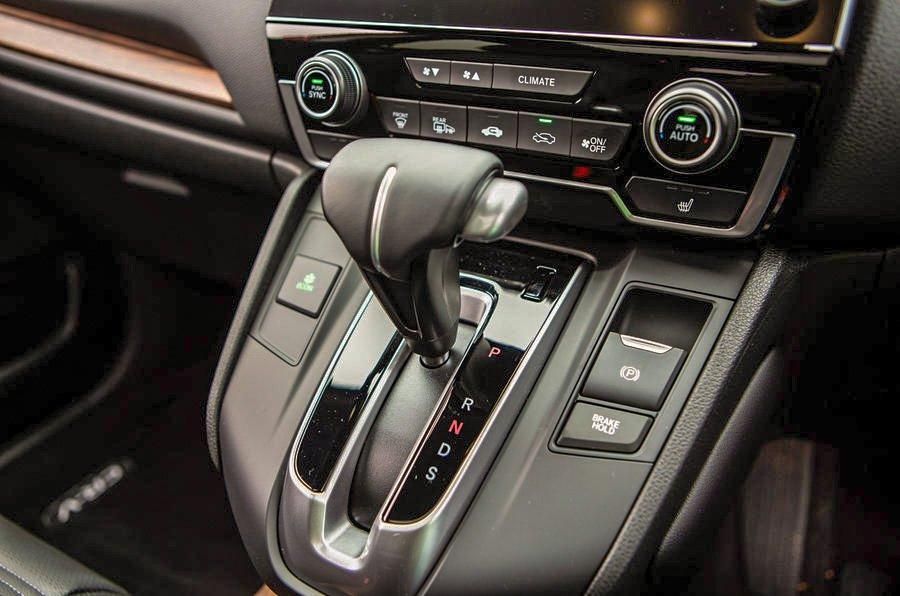 Honda CR-V gear selector