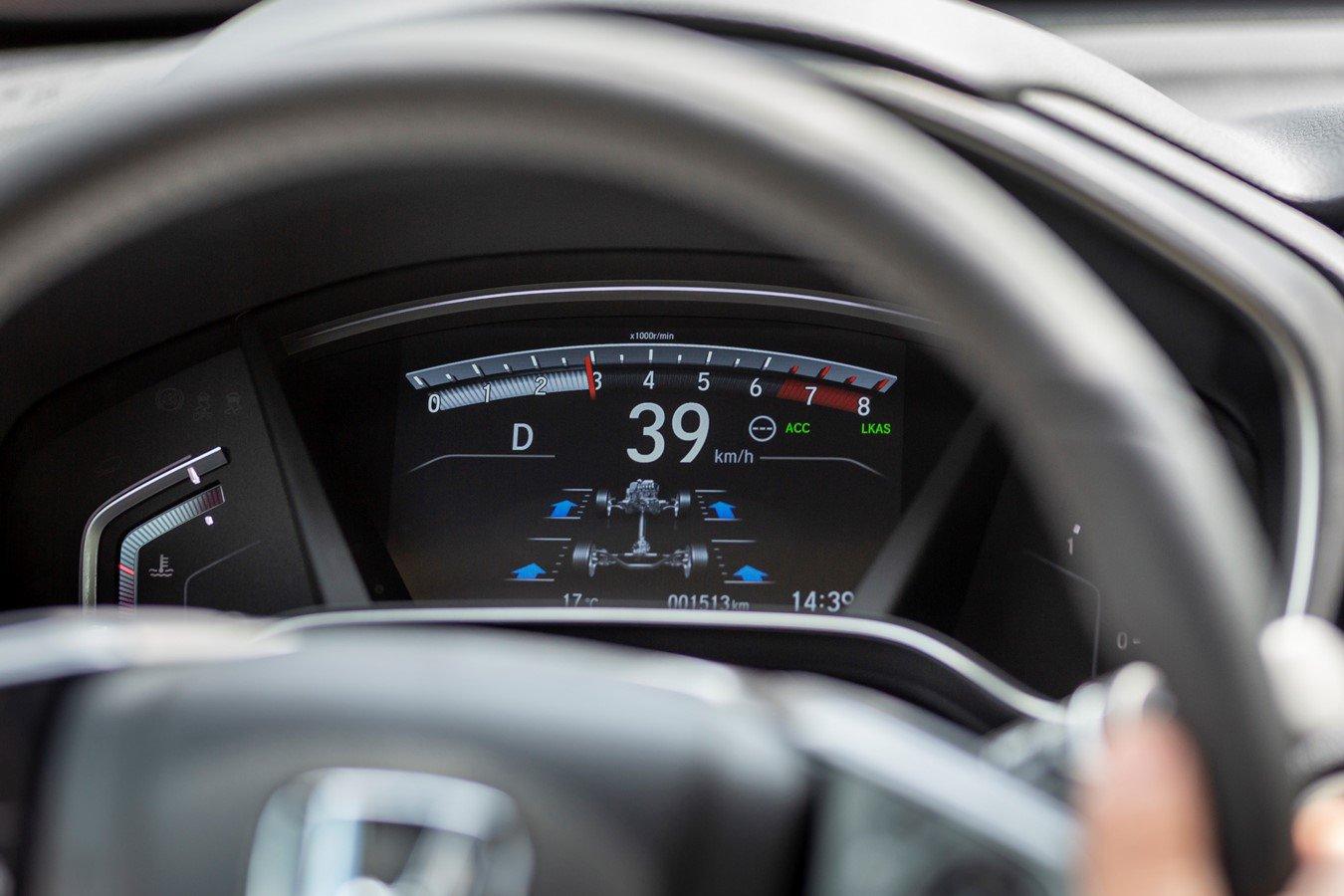 Honda CR-V dashpod