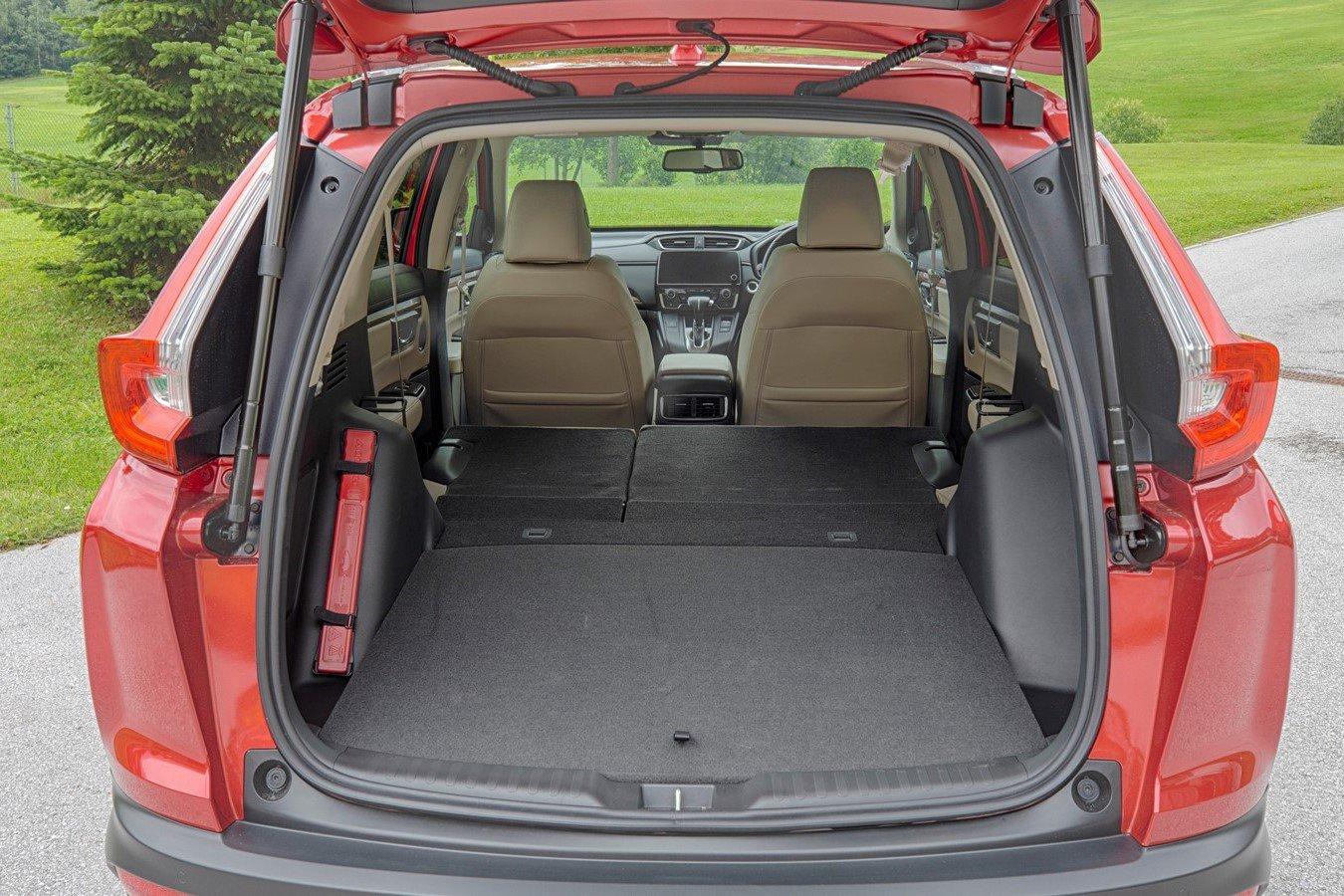 Honda CR-V luggage area