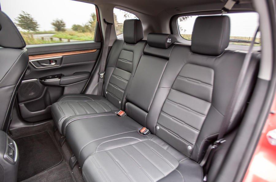 Honda CR-V reat seats