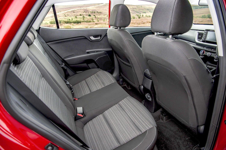 KIA Stonic rear seats