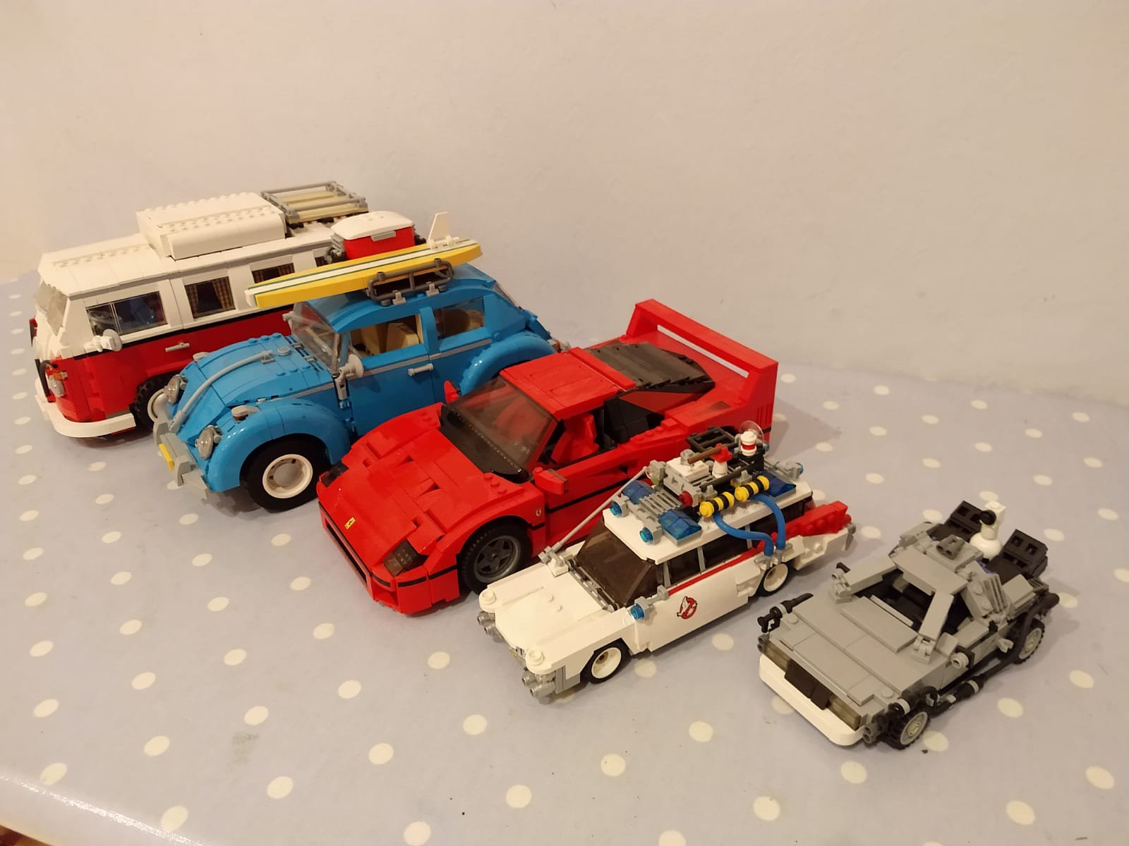 Complete Set With F40