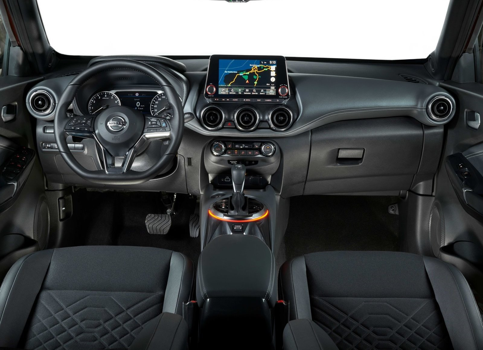 New Juke Dashboard