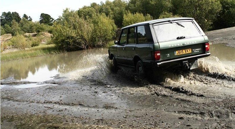 Motor Safari Land Rover Range Rover