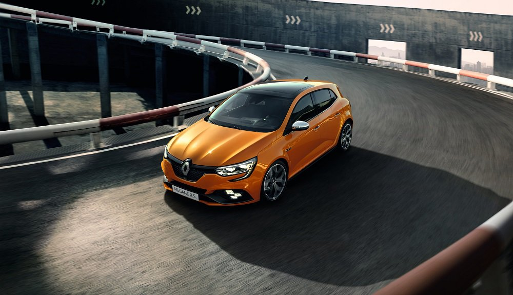 Renault Megane R.S from above