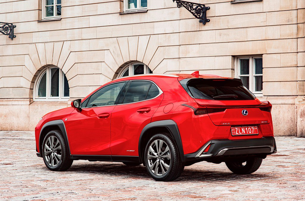 2019 Lexus UX Side and Rear