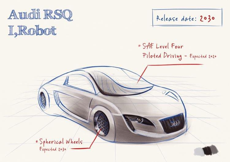 Audi I Robot