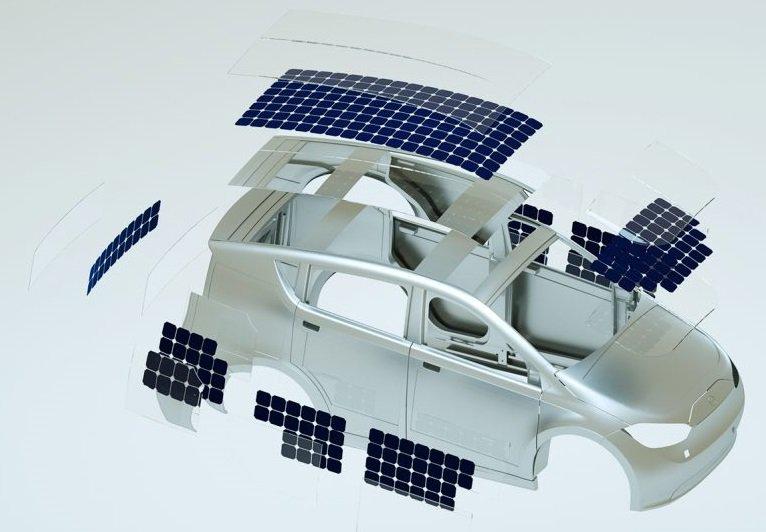Sono Sion Solar Powered Car