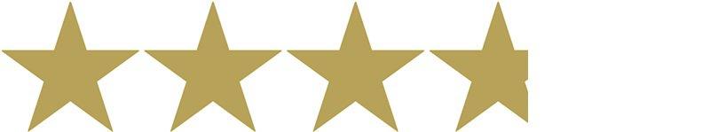 3.75 gold stars