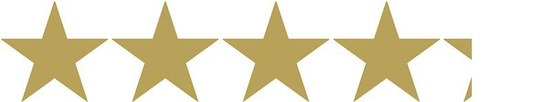 4.3 gold stars