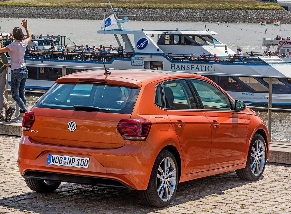 2018 Volkswagen Polo Rear
