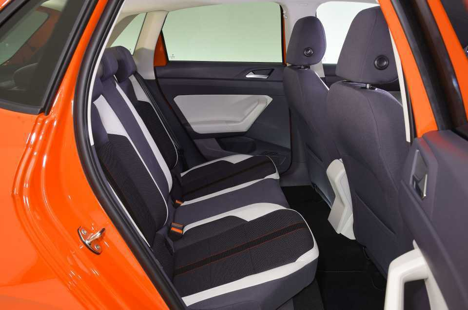 2018 Volkswagen Polo Rear Seats