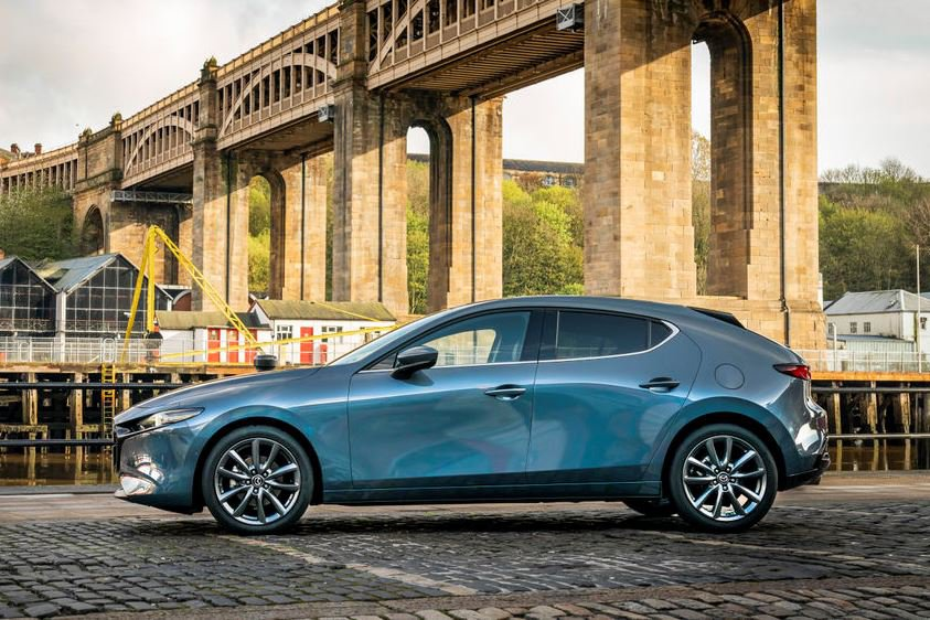 2019 Mazda3 hatchback exterior