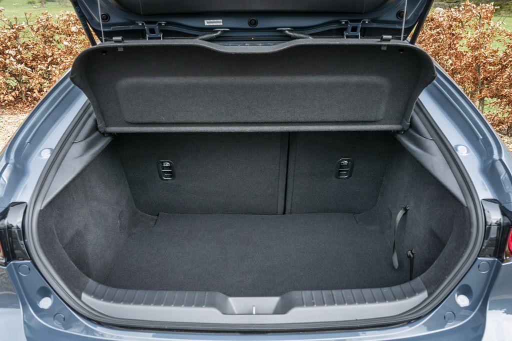 2019 Mazda3 hatchback boot space