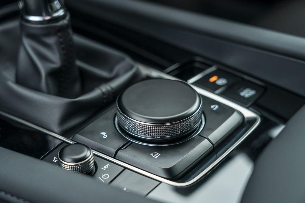 2019 Mazda3 hatchback interior