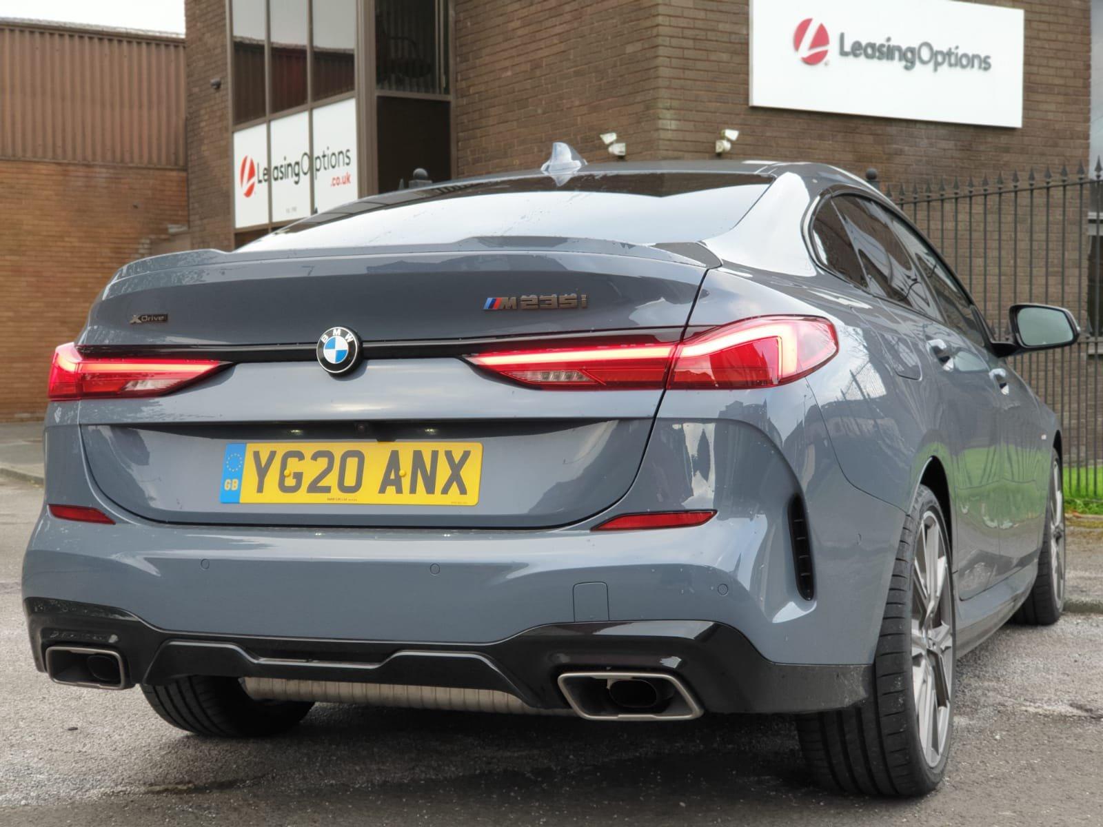 BMW M235i XDrive M Sport rear