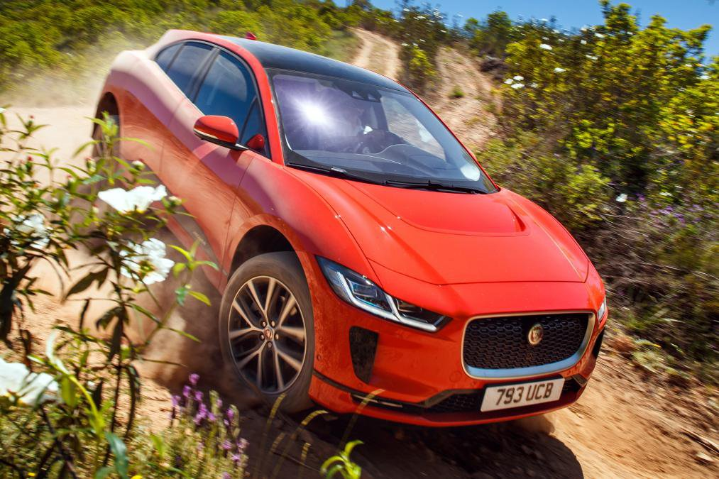 Jaguar I-Pace Electric Vehicle