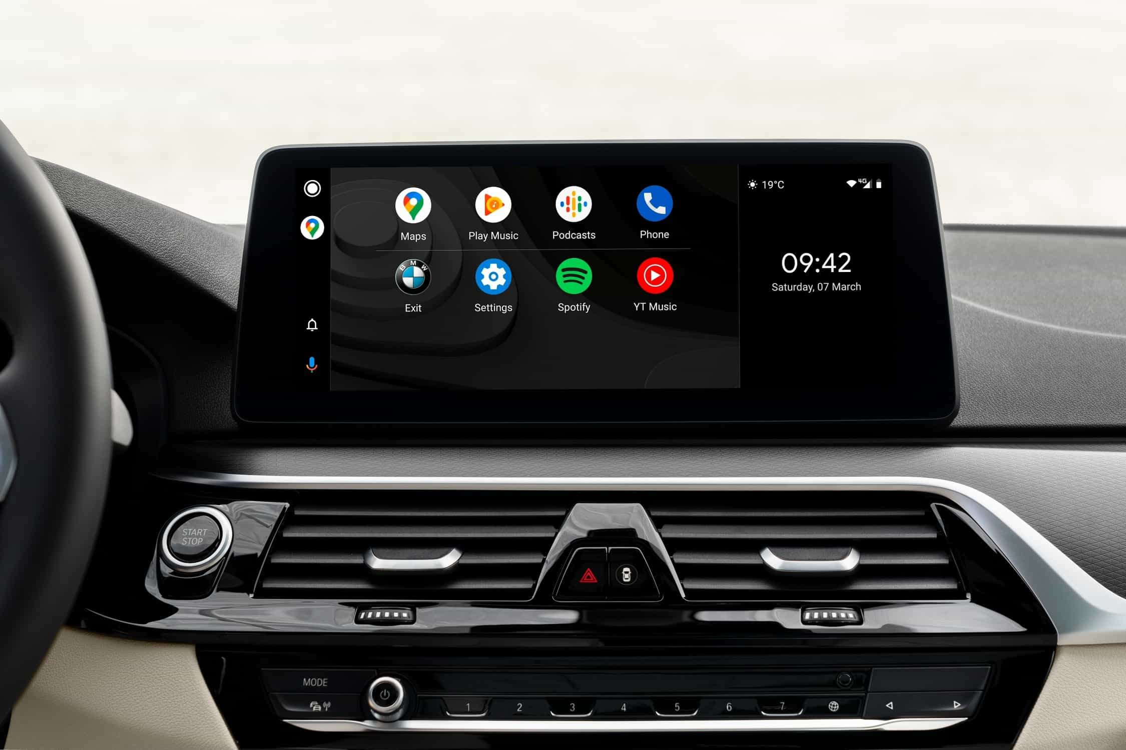 BMW iDrive Android Auto