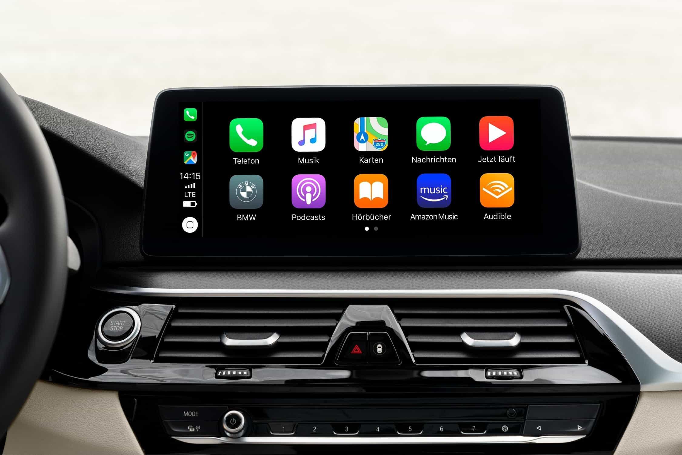 BMW iDrive AppleCar Play