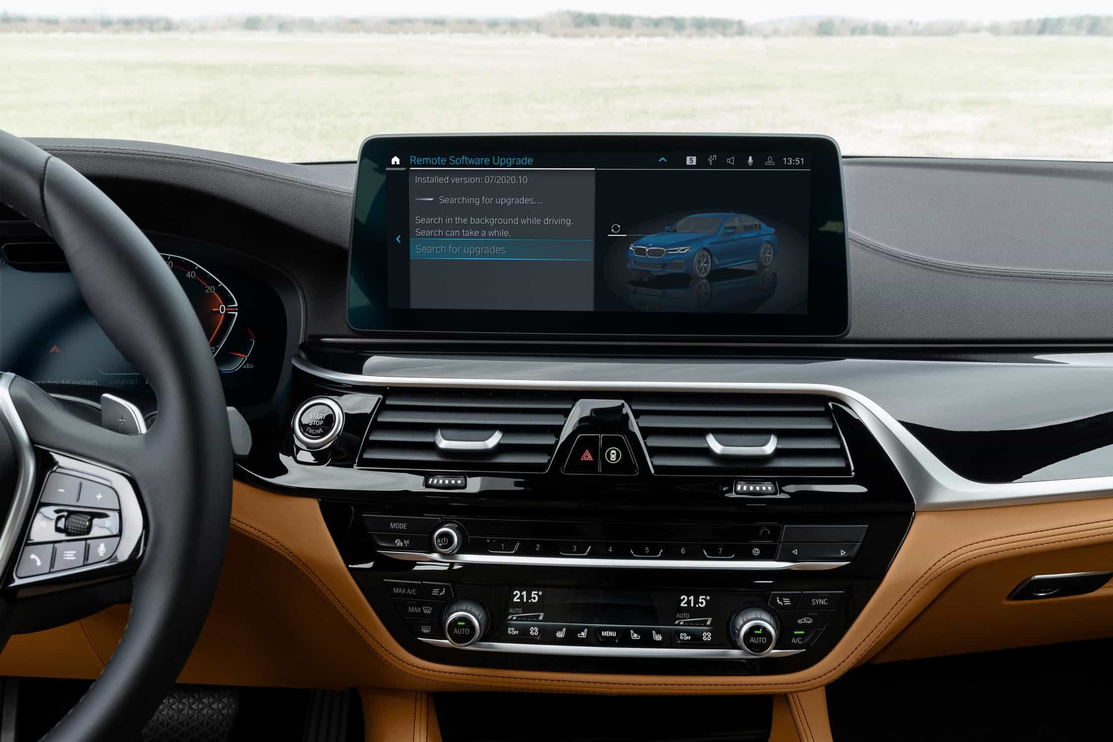 BMW iDrive upgrade to OS7