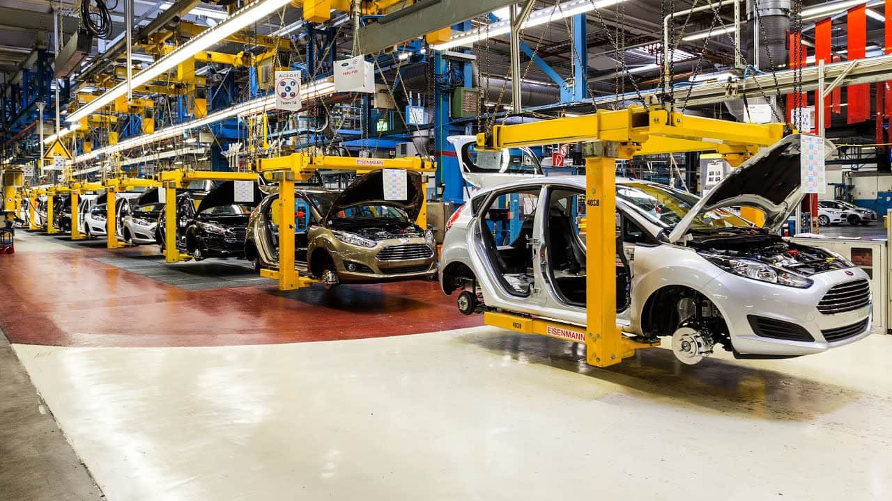 Ford Fiesta Factory