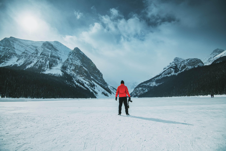 Landscape Photographer in Snow