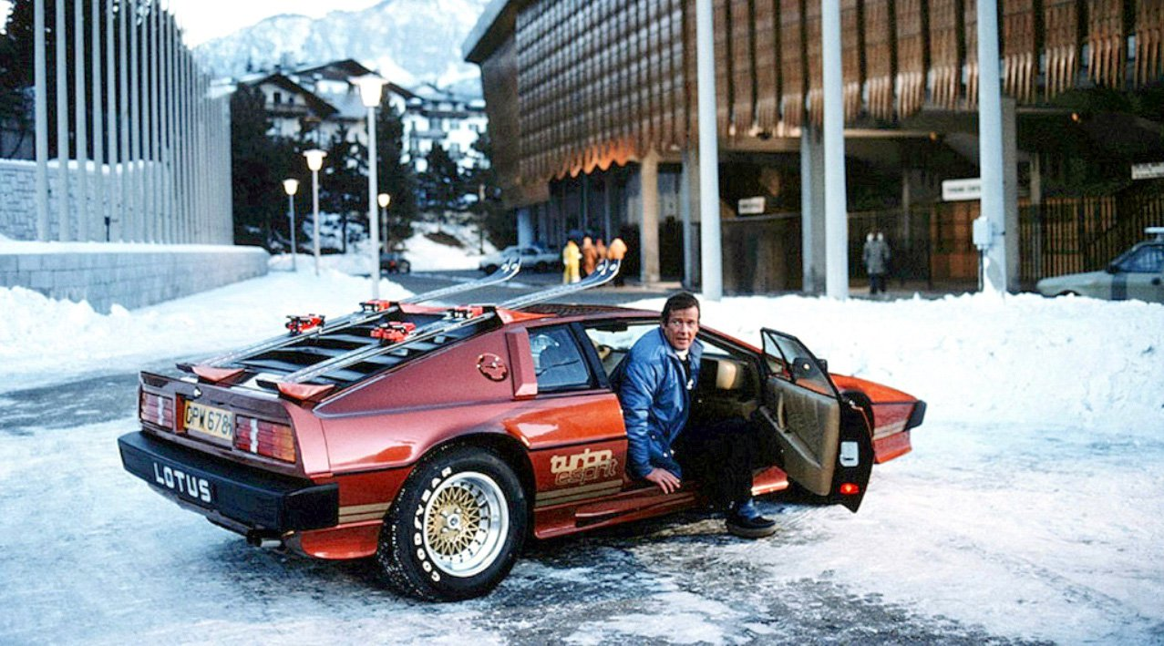 For Your Eyes Only Lotus Esprit Turbo