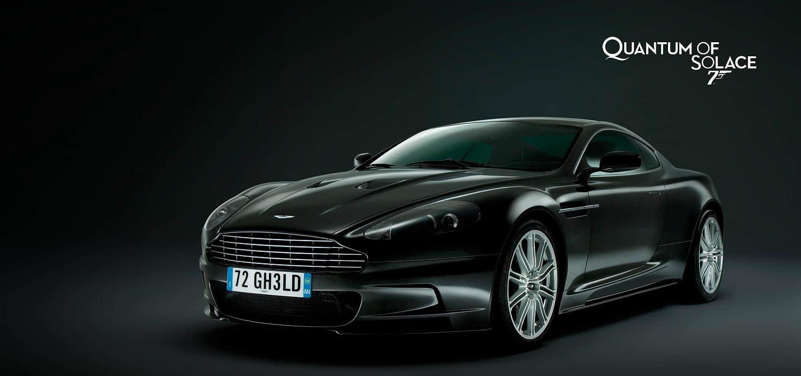 Aston Martin V12 DBS James Bond