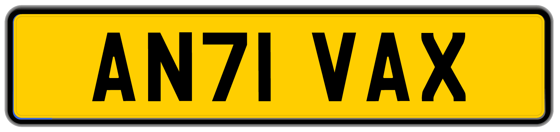Anti VaX plate