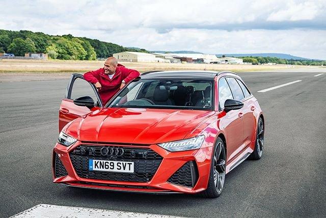Chris Harris TopGear Audi RS6