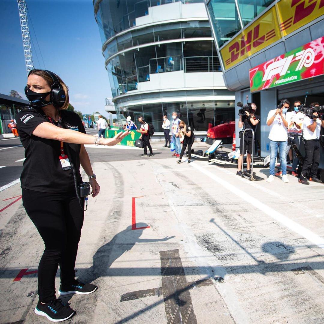 Claire Williams Monza 2020