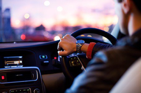 Driver and Dashboard Dusk